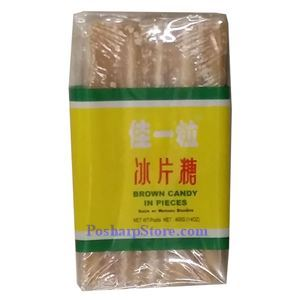 Picture of Jiayili  Brown Rock Sugar Bar 14 Oz