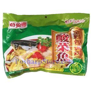 图片 德莊牌酸菜鱼全料包调料 280克