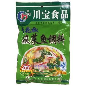 图片 川宝牌青花椒酸菜鱼调料包 320克 3小袋