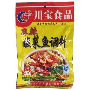 图片 川宝牌麻辣酸菜鱼调料包 320克 3小袋