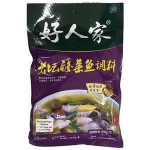 图片 好人家牌老坛酸菜鱼调料 350克
