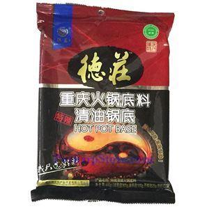 图片 德庄牌重庆火锅调料(清油) 450克