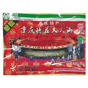 Picture of Morals Village Chongqing Large Hotpot Sauce (Vegetable Oil)  10.5 oz