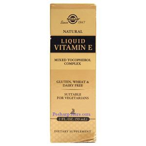 Picture of Solgar  Liquid Vitamin E 150 IU Mixed 2 Fl oz