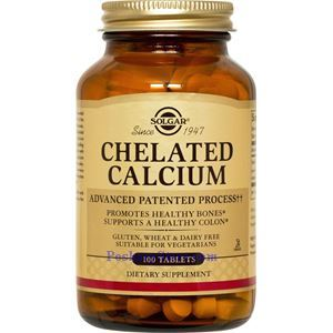 Picture of Solgar Chelated Calcium 100 Tablets