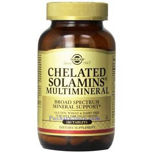 Picture of Solgar Chelated Solamins® Multimineral 180  Tablets