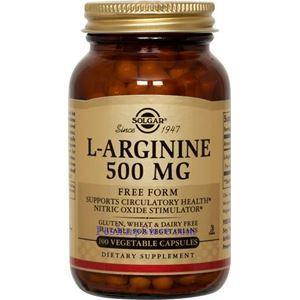 图片 Solgar牌L-精氨酸素食胶囊  500毫克 100粒