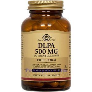 Picture of Solgar DLPA 500 mg 50 Vegetable Capsules