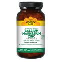 Picture of Country Life Target-Mins Calcium Magnesium Zinc with Vitamin D 180 Tablets