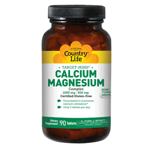 Picture of Country Life Target-Mins Calcium Magnesium Complex 90 Tablets
