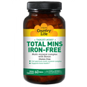 Picture of Country Life Target-Mins  Total Mins Iron-Free Multi-Mineral Complex 120 Tablets