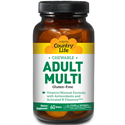 Picture of Country Life Chewable Adult's Multi 60 Wafers