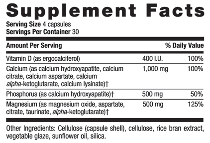 Picture for category Country Life Calcium Magnesium with Vitamin D Complex 360 Vegetarian Capsules