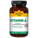 Picture of Country Life Vitamin A 10000 IU 100 Softgels