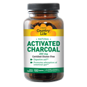 Picture of Country Life Activated Charcoal 260 mg 100 Capsules