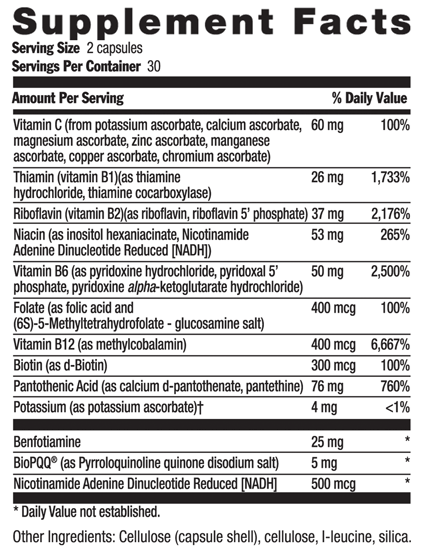 Picture for category Country Life Coenzyme B-Complex Advanced 120 Vegetarian Capsules