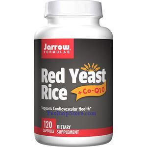 Picture of Jarrow Formulas Red Yeast Rice with CoQ10 120 Capsules