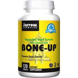 Picture of Jarrow Formulas Bone-Up Vegetarian Vegan Formula with Calcium Citrate 120 Tablets