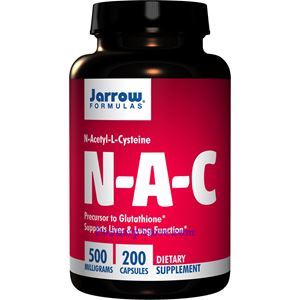 Picture of Jarrow Formulas NAC 500 mg 200 Capsule