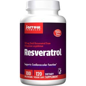 Picture of Jarrow Formulas Resveratrol 100 mg 120 Veggie Caps