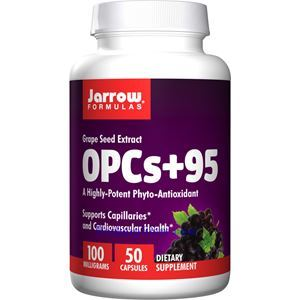 图片 Jarrow Formulas杰诺牌葡萄籽精华(OPC) 100毫克 50粒 50天量