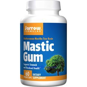 Picture of Jarrow Formulas Mastic Gum 1000mg 60 Veg Capsules
