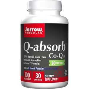 Picture of Jarrow Formulas Q-absorb Co-Q10 100mg 30 Softgels