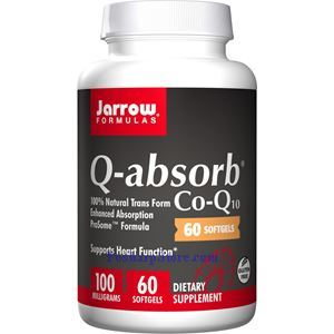 图片 Jarrow Formulas牌容易吸收辅酶Q10液体胶囊 100毫克 60粒