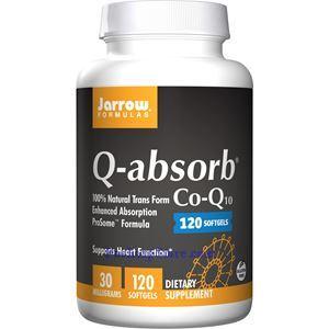 Picture of Jarrow Formulas Q-absorb Co-Q10 30mg 120 Softgels