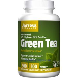 Picture of Jarrow Formulas Green Tea 500mg 100 Capsules
