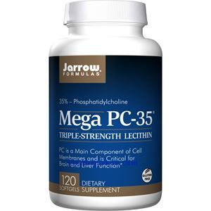 Picture of Jarrow Formulas Mega PC-35®  Phosphatidylcholine-35 (Lecithin) 120 Softgels