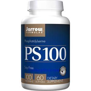 Picture of Jarrow Formulas PS 100 (Phosphatidylserine) 100mg 60 Softgels