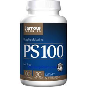 图片 Jarrow Formulas牌PS-100磷脂酰丝氨酸软胶囊 100毫克 30粒