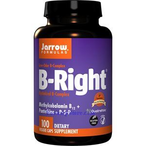 Picture of Jarrow Formulas B-Right Optimized B-Complex 100 Veg Capsules