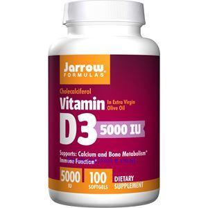 Picture of Jarrow Formulas Vitamin D3 5000IU 100 Softgels