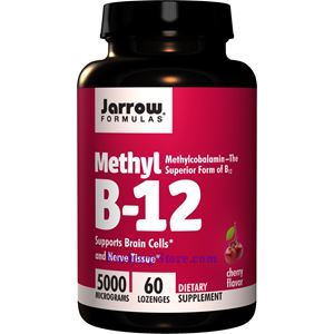 Picture of Jarrow Formulas Methyl B-12  5000mg 60 Lozenges