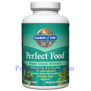 Picture of Garden of Life Perfect Food 150 Vegetarian Caplets