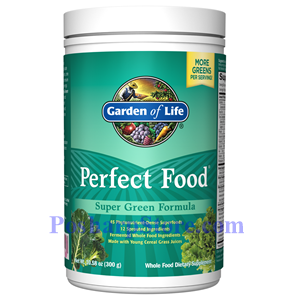 Picture of Garden of Life Perfect Food Super Green Formula Powder  10.58 oz
