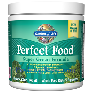 Picture of Garden of Life Perfect Food Super Green Formula Powder  5 oz