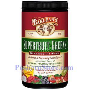 Picture of Barlean's Greens Powder Strawberry-Kiwi Flavor 9.5 oz