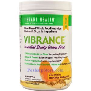 Picture of Vibrant Health Vibrance® Essential Daily Green Food Orange Pineapple 9 Oz 30 Day Supply