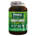 Picture of Pines Wheatgrass Barley Grass 500 mg 250 Tablets