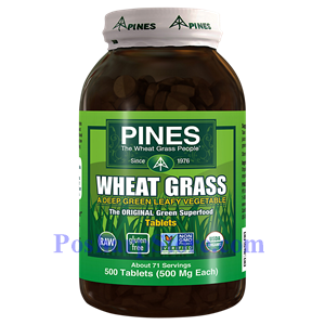Picture of Pines Wheatgrass Wheat Grass 500 mg 500 Tablets