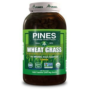 Picture of Pines Wheatgrass Wheat Grass 500 mg 1400 Tablets