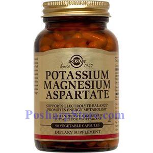 Picture of Solgar Potassium Magnesium Aspartate 90 Vegetable Capsules