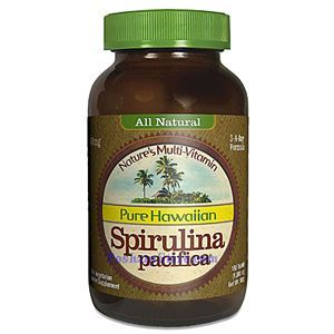 Picture of Nutrex Hawaii Pure Hawaiian Spirulina Pacifica 1000mg 180 Tablets 3-A-Day