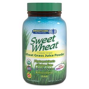 Picture of BrightCore Nutrition Sweet Wheat Grass Juice Powder 1.06 oz