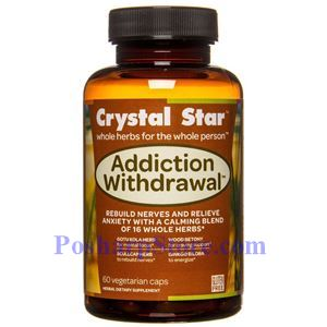 Picture of Crystal Star Addiction Withdrawal 60 Veg Caps