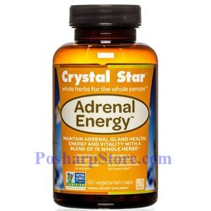 Picture of Crystal Star Adrenal Energy 60 Veg Caps