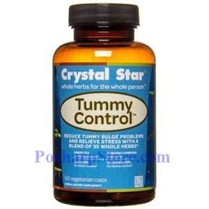 Picture of Crystal Star Tummy Control 60 Veg Caps